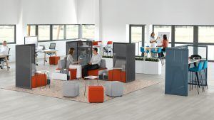 modern office furniture ideas - open trends