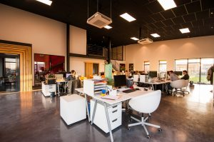 Blended workplace design trends
