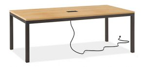powered desks for modern office furniture ideas